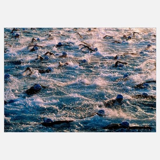 Triathlon swimmers