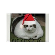 fat cats & co Rectangle Magnet