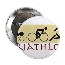 """Triathlon 2.25"""" Button"""