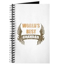World's Best Grandad (Wings) Journal
