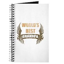 World's Best Grandpa (Wings) Journal
