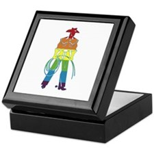 The Gay Cowboy Keepsake Box