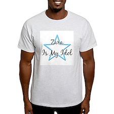 ZARA IS MY IDOL Ash Grey T-Shirt