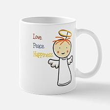 Love Peace & Happiness Mug