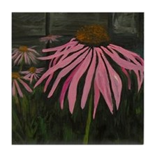 Coneflower Tile Coaster