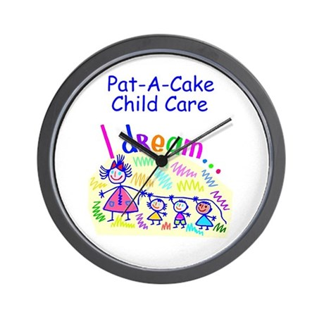 Pat-A-Cake Child Care Wall Clock