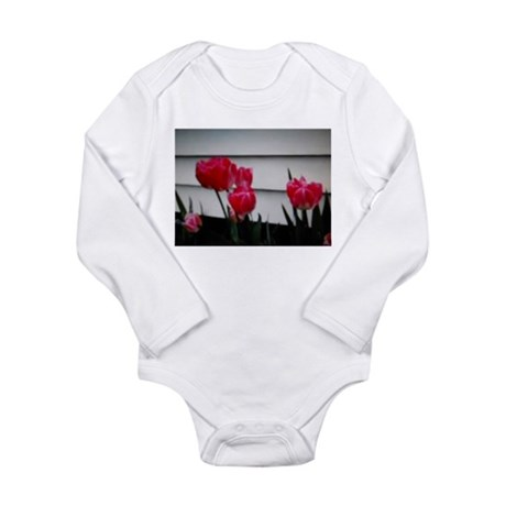 Tulips For Mother's Day Long Sleeve Infant Bodysui