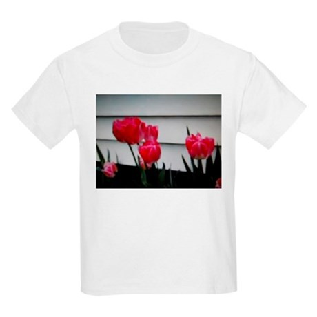 Tulips For Mother's Day Kids Light T-Shirt