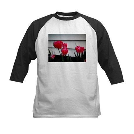 Tulips For Mother's Day Kids Baseball Jersey