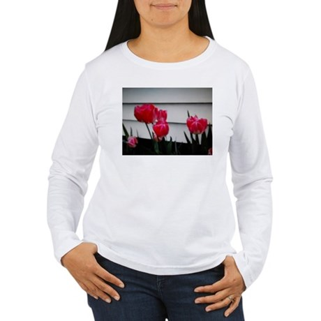 Tulips For Mother's Day Women's Long Sleeve T-Shir