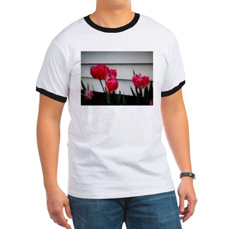 Tulips For Mother's Day Ringer T
