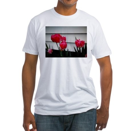 Tulips For Mother's Day Fitted T-Shirt