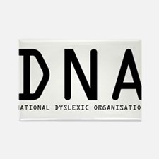 DNA - National Dyslexic Assoc Rectangle Magnet
