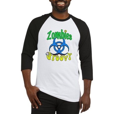 Zombies Groovy 3 Baseball Jersey