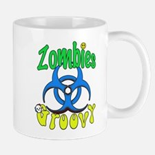 Zombies Groovy 3 Mug