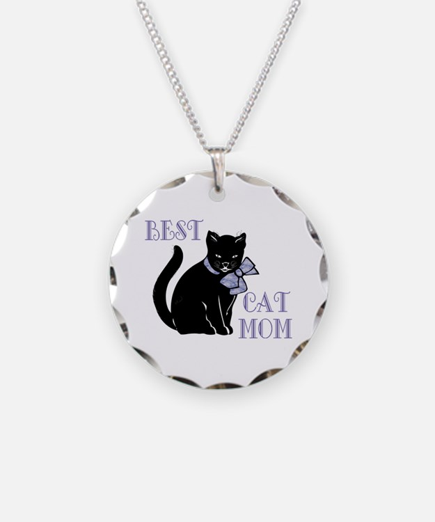 Best Cat Mom Necklace