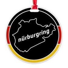 Nurburgring Round Ornament