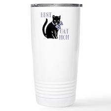 Best Cat Mom Travel Coffee Mug