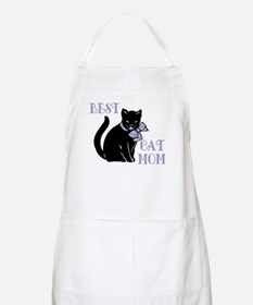 Best Cat Mom Apron