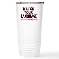 Cute Speech pathologist Travel Mug