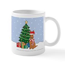 Pharaoh Hound Christmas Mug