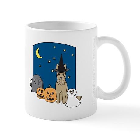 Picardy Shepherd Halloween Mug