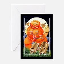 Corgi Halloween Greeting Cards (Pk of 10)