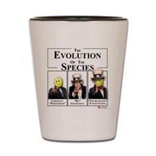 Evolution of the Species Shot Glass