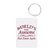 Awesome Real Estate Agent Keychains