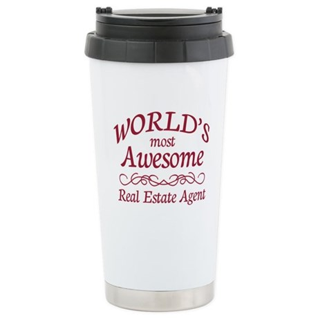 Awesome Real Estate Agent Stainless Steel Travel M