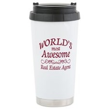 Awesome Real Estate Agent Travel Mug
