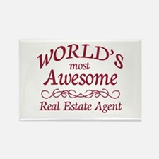Awesome Real Estate Agent Rectangle Magnet