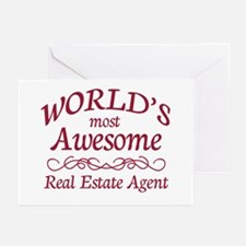 Awesome Real Estate Agent Greeting Cards (Pk of 10