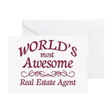 Awesome Real Estate Agent Greeting Card