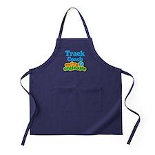 Track Coach Extraordinaire Apron (dark)