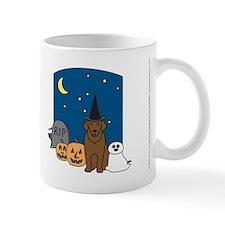 Chocolate Labrador Retriever Halloween Mug