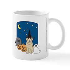 Yellow Labrador Retriever Halloween Mug