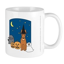 Pharaoh Hound Halloween Mug