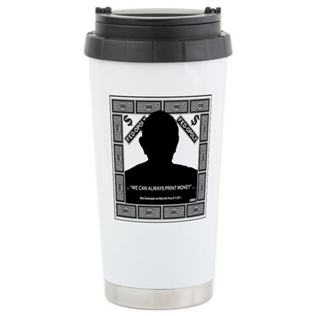 Fed-Opoly Stainless Steel Travel Mug