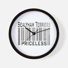 Sealyham Terriers Wall Clock