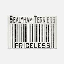 Sealyham Terriers Rectangle Magnet
