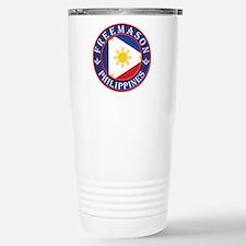 Filipino Masons Stainless Steel Travel Mug