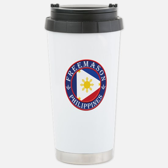 Filipino Masons Stainless Steel Travel Mug