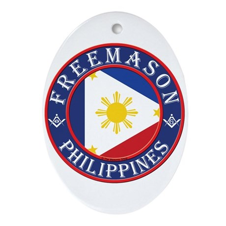 Filipino Masons Ornament (Oval)