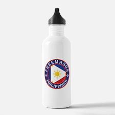 Philippines Freemason Water Bottle