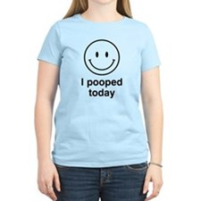 I Pooped Today Smiley T-Shirt