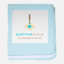 Positive Space baby blanket