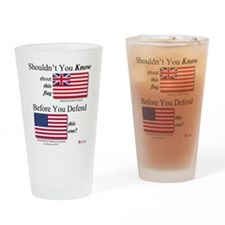 Corporate Flags Drinking Glass