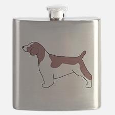 Welsh Springer Spaniel Flask
