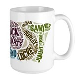 Lost Large Mugs (15 oz)